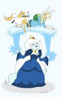 .:Fionna and Cake:. by MonsterPrincess5