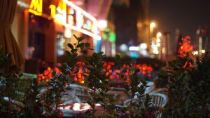 Street at Night by praveen3d