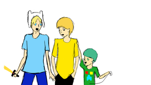The boys of the treehouse (rough sketch) by supermonkey1313
