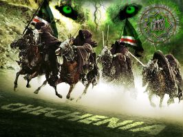 Chechen Warriors by Thetumso