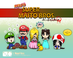 BB: Super Maito Bros. by mongrelmarie