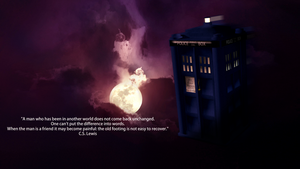 TARDIS - Night Sky by Evil-Policeman