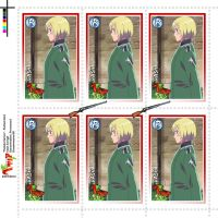 Hetalia Stamps - Switzerland by Dreamweaver38