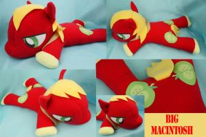 Big Macintosh Plush by bluepaws21