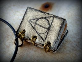 Harry Potter and the Deathly Hallows Necklace by DrywKapnobatis