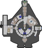 Corellian XS Light Freighter 44 m Deckplan by Oriet