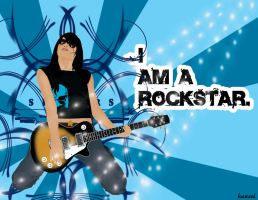 I Am A Rockstar by tenbiscuits