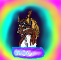 Badge or portrait com. example by shi562