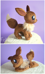 Eevee Plush + Beanie by FollyLolly