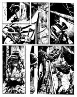 Sample art for 2000ad by LiamSharp