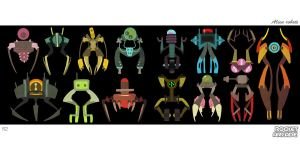 Aliens Robots 2 by hision