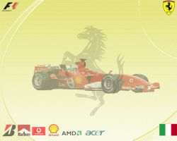 Ferrari formula 1 wallpaper by BoomerAang