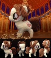 Pony Plush: Belle -FOR SALE- by SnowFright