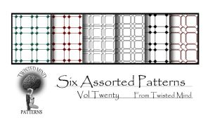 TAM Pattern Set 20 by Textures-and-More