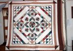 Dresden Plate Quilt by Thy-Darkest-Hour