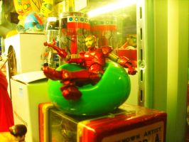 Iron Man Is Chillin' by Neville6000