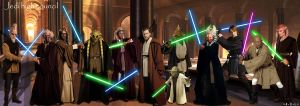 jedi high council ep III by adlpictures