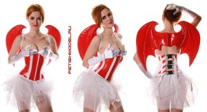 CatalogShoot.Santa LittleDevil by agnadeviphotographer