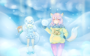 tera - winter loading screen submission by chelfie