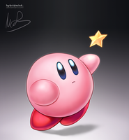 Kirby by hybridmink