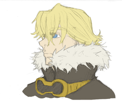 Layle headshot -colored- by LeviathanTheLast