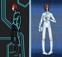 TRON world forms by lucy12143