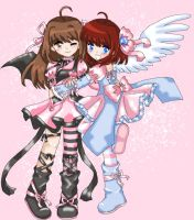 Game of Fate : Pink Sisters by Frogberri