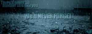 Never Forget Cover by Gamble55