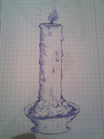 Candle - Ink Pen by SettoriQ