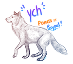 YCH Wolf Stance [CLOSED] by ArtBeginsHere