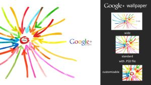 Google+ Wallpaper by MetroUI
