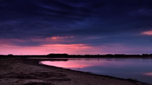 Elbe sunset by DonaldPipowitch