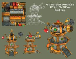 Gnomish Defense Tower by Proxzee