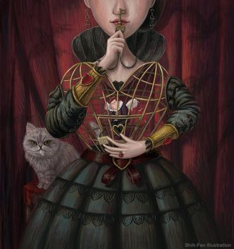 The Secrets of Hearts: The Cage Heart by GATTACALIN