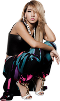 CL (2ne1) PNG Render by classicluv