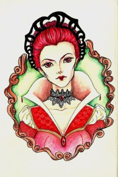 Queen of Hearts by saalenn