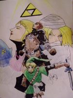 OoT: 10th anniversary tribute by sonsofshadow303