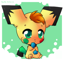 Chibi Commissions: Zip [for Pikacshu] by Vanilliana