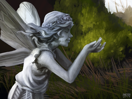 Statue Speedpaint Study - 2hrs by daPatches