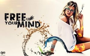 Free Up Your Mind - Weed Girl by crni94