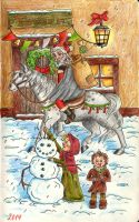 Santa Claus is here by Eminentia
