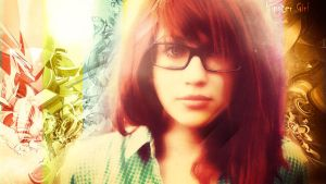 Hipster Girl by MrP3pC