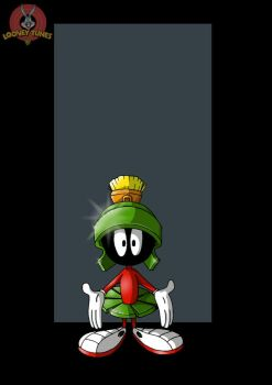 marvin the martian by nightwing1975