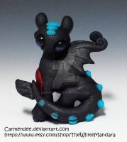 Alpha toothless figure by carmendee