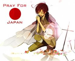 Pray for Japan South Italy by Seasaltboi