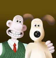 Wallace and gromit REUPLOAD by Sukikochan1