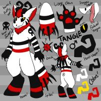 Tangle Ref Sheet by RadCatBlakat
