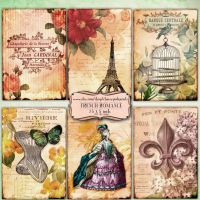 FRENCH ROMANCE Digital collage sheet by miabumbag