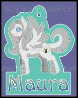 MLP Badge: Maura Dragon 2012 by AirRaiser