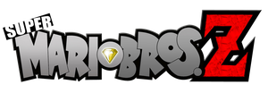 Super Mario Bros Z Modified Logo by KingAsylus91